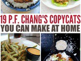 19 p.f. Chang's Copycats You Can Make At Home