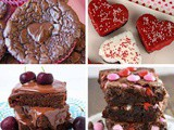 20+ Delicious Brownies for Valentine's Day