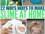22 Ways To Make Slime At Home
