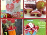 4 Apple School Day Fun and Teacher Gifts