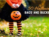 50 Halloween Trick-Or-Treat Bags and Buckets