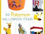 50 Pokemon Halloween Items