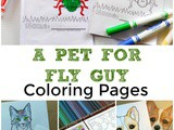 A Pet for Fly Guy Coloring Sheets