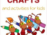 Ant Themed Crafts and Activities for Kids