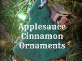 Applesauce Cinnamon Ornaments {Olfactory Sensory Activity}