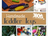 Awesome List of Handmade Toddler Toys