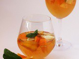 Basil-infused Virgin Sangria Recipe