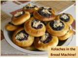 Bread Machine Recipe:  Kolaches