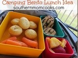 Camping Bento Lunch Idea