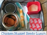 Chicken Nugget Bento Lunch