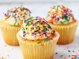 Confetti Lemon Cupcake Recipe