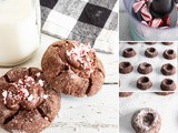Crazy Good Peppermint Fudge Filled Cookies