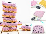 Creamy and Beautiful Blueberry Breakfast Bars