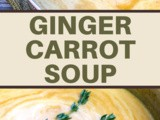 Creamy Ginger Carrot Soup Recipe