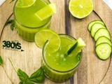 Cucumber Basil Limeade Drink Recipe