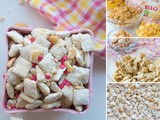 Delicious Banana Cream Puppy Chow