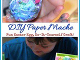 Diy Paper Mache Easter Eggs