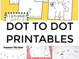Dot to Dot Printables for Children