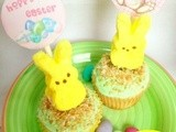 Easter Bunny Cupcakes (with free printable)