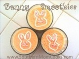 Easter Bunny Pineapple Smoothies