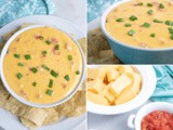 Easy RoTel Dip with No Meat Recipe