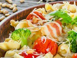Easy Tortellini Salad Recipe with diy Dijon Vinaigrette