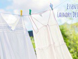 Essential Oil Laundry Detergent Recipe for Hard or Soft Water