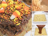 Festive and Sweet Candy Corn Cookie Brownie Bars