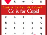 Find the Letter: c is for Cupid