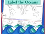 Geography: Label the World's Oceans {Ocean Animal Unit Study}