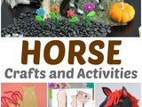 Horse Crafts for Preschoolers – Farm Activities for Kids