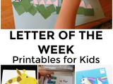 Letter of the Week Printables