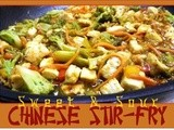 Low Calorie: Sweet and Sour Chinese Stir Fry