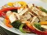 Lunchbox Recipe: tofu vegetable salad