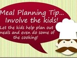 Meal Planning Tip 8:  use Your Kids
