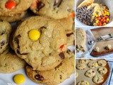 Mouthwatering Reese's Pieces Chocolate Chip Cookies Recipe