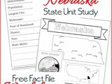 Nebraska State Fact File Worksheets