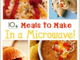 Over 10 Meals to Cook in a Microwave