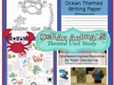 Over 15 Ocean Animals Theme Unit Activities for Kids