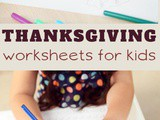 Over 20 Free Thanksgiving Worksheets