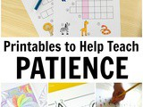 Patience Worksheets for Kids