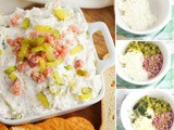 Perfectly Portioned Ham and Pickle Dip Recipe