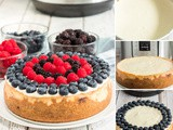 Perfectly Sweet Instant Pot Berry Cheesecake Recipe