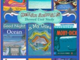 Picture Books About The Ocean {Ocean Animals Unit Study}