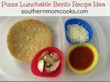 Pizza Lunchable bento recipe idea