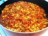 Quick and Easy Skillet Goulash