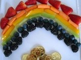 Rainbow Fruit and Vegetable Plate Recipe