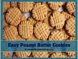 Recipe: Easy Peanut Butter Cookies