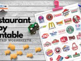 Road Trip Printables for Kids: Restaurant i Spy