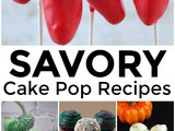 Savory Cake Pop Recipes
